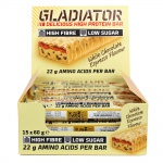 Batony Gladiator 15x60g white-chocolate espresso