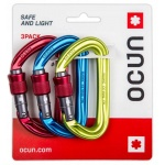 Karabinek Ocun Hawk Screw 3-Pack