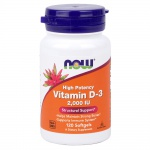 NOW D-3 2000 IU 120 softgels