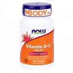 NOW D-3 400 IU 180 softgels