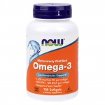 NOW Omega-3 100 softgels
