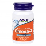 NOW Omega-3 30 softgels