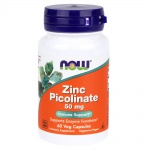 NOW Zinc Picolinate 50mg 60 kaps