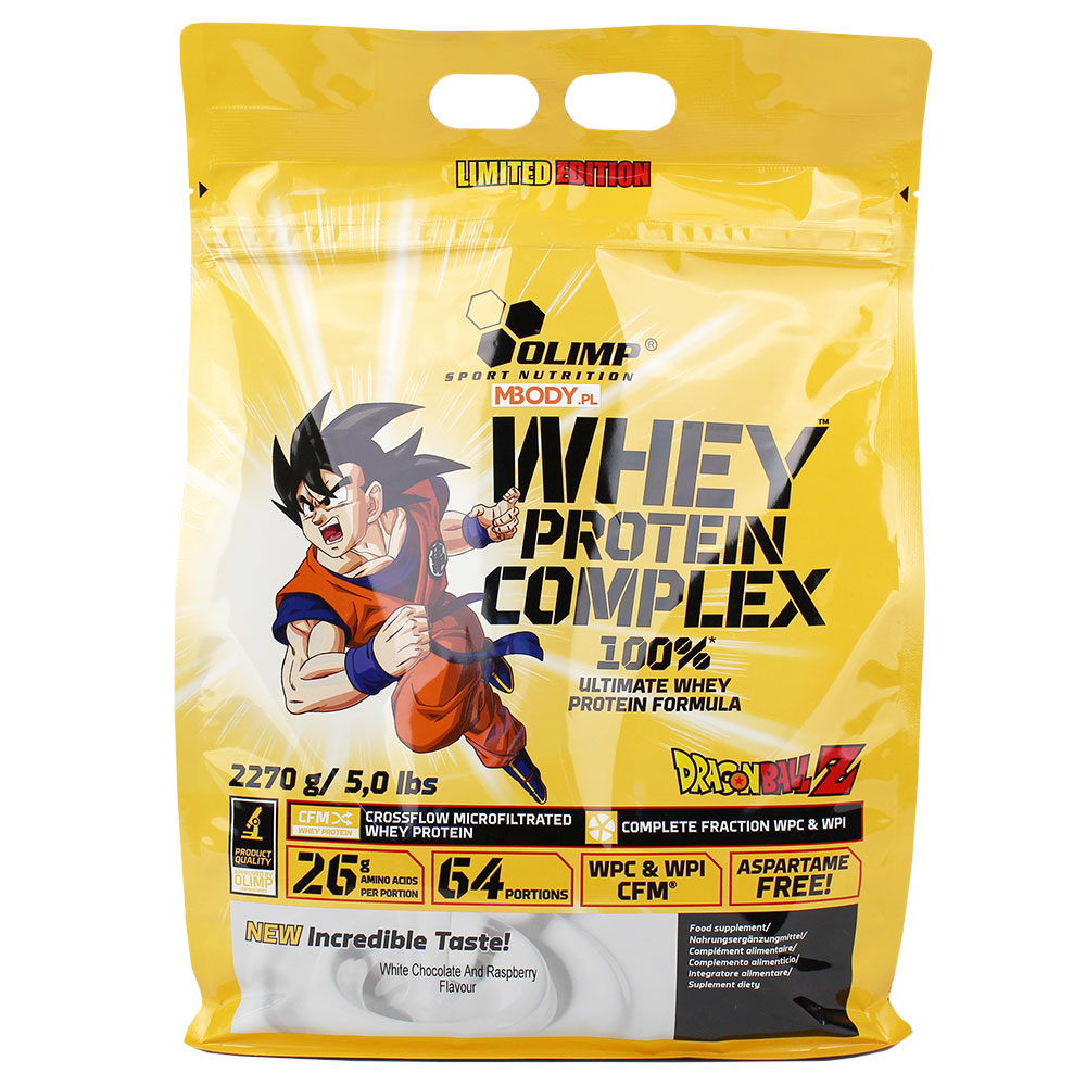 Whey Protein Complex 2270g Dragon Ball Z