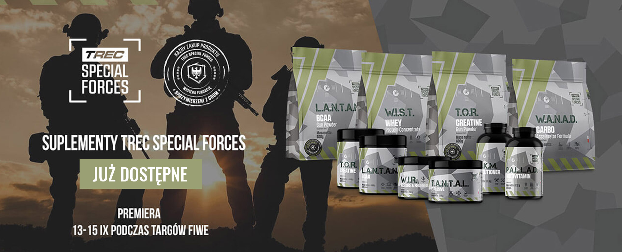 trec special forces banner home